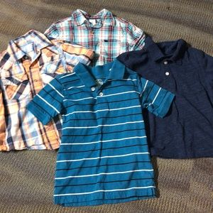 Other - Four shirt bundle size 4/5 button downs and polos